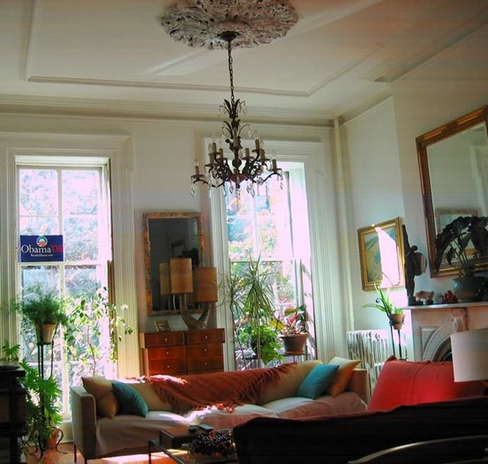 Grand Garden/Parlor Duplex Loaded With Ornate Detail ! Photo 8 - BBR-1584