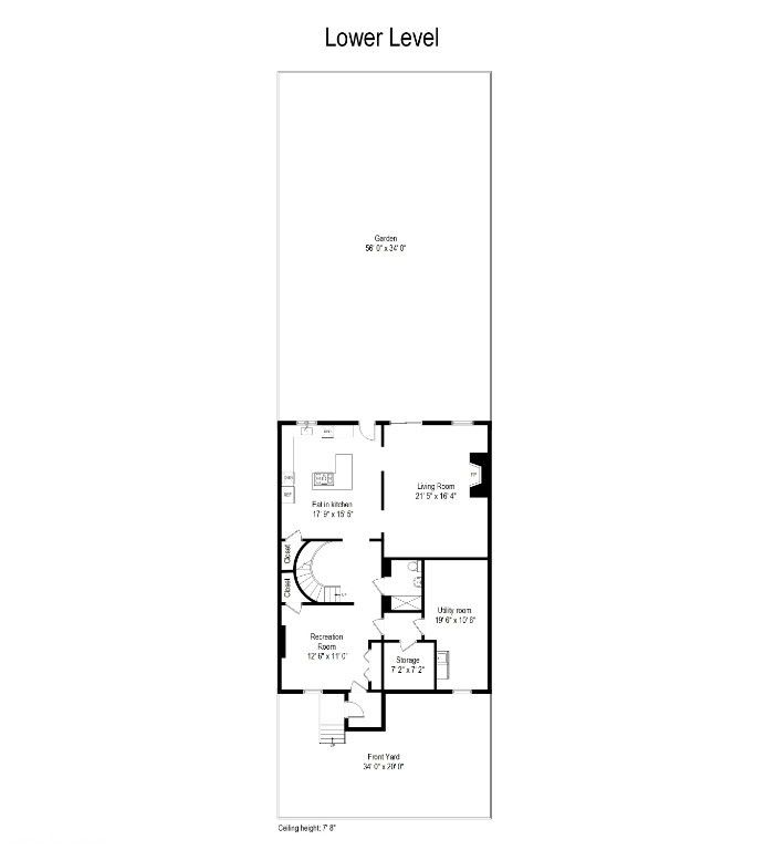 34' Wide Brownstone DUPLEX Tucked Away On A Tree Lined Block NO FEE Photo 19 - BBR-2788