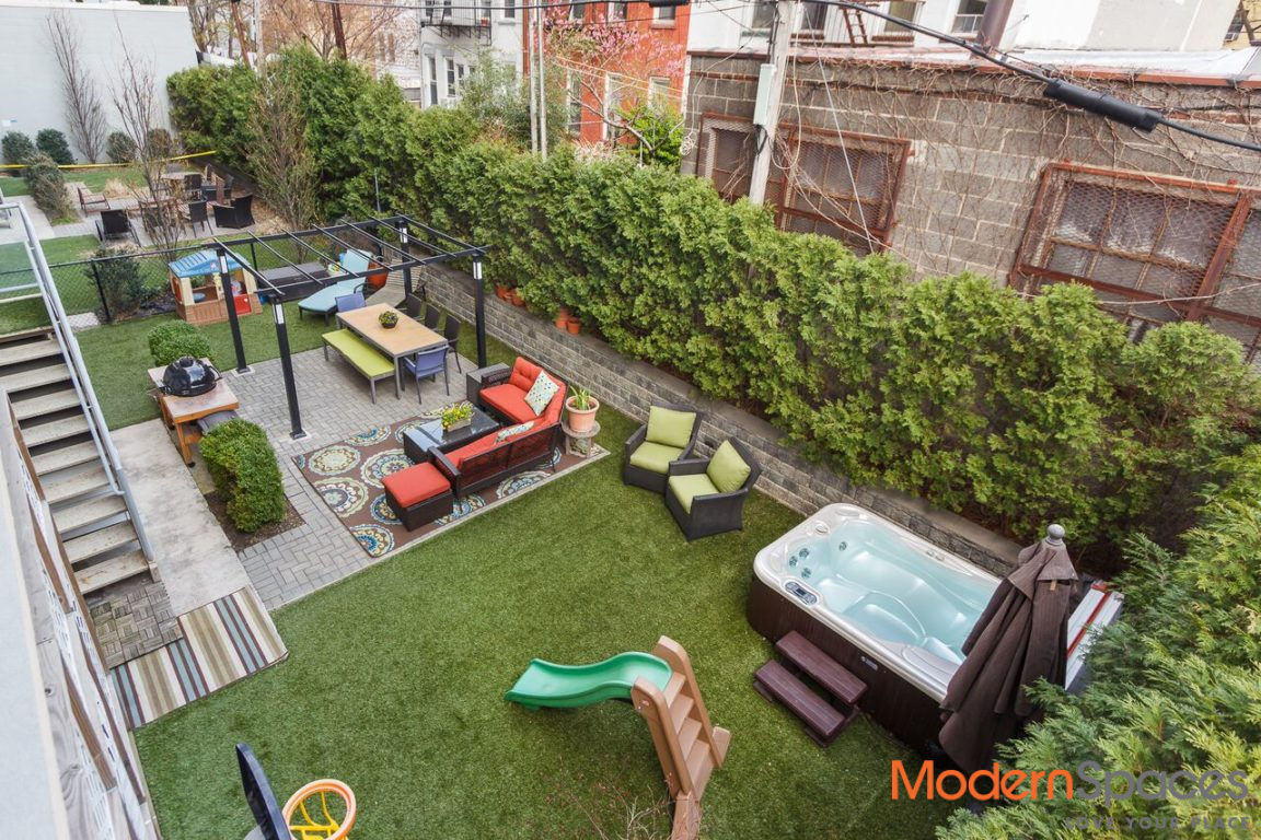 New To Market!  2 Bedroom 2 Baths With XL Backyard And Rooftop Cabana Photo 7 - MODERNSPACESNYC-111342