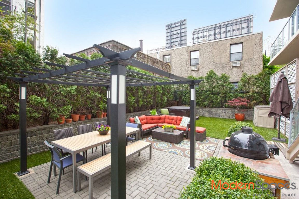 New To Market!  2 Bedroom 2 Baths With XL Backyard And Rooftop Cabana Photo 0 - MODERNSPACESNYC-111342