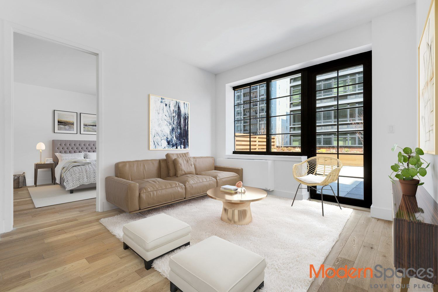The Harrison, New To Market, 2 Bedrooms And 2 Baths Photo 3 - MODERNSPACESNYC-139631